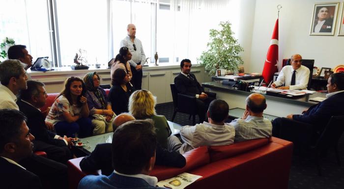 Bursa Osmangazi İlçe Örgütümüz ziyarete geldi