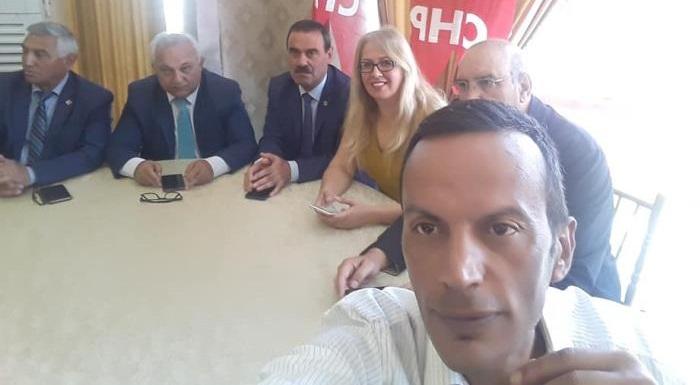 CHP Mamak Ilçe Genişletilmiş ilçe Danisma Toplantısı.