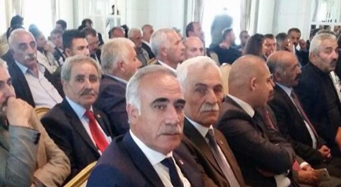Van'da CHP Genel Başkanımız Kemal Kılıçdaroğlu Başkanlığında yapılan  İl Başkanları Toplantısındayız