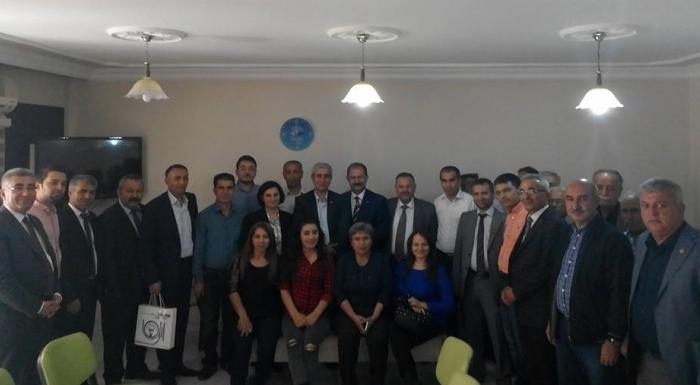 Eğitim İş Genel Başkanı Sayın Veli Demir'den Adıyaman CHP İl Örgütümüzü ziyareti