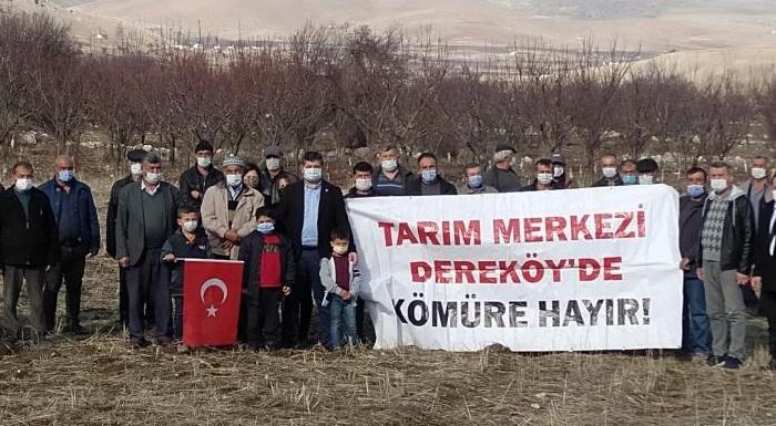 """ARI: """"DEREKÖY'DE KÖMÜR MADENİNE HAYIR""""  ?"""