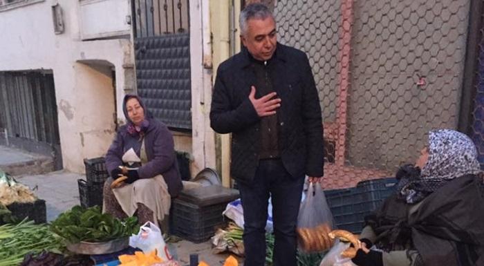 İL BAŞKANIMIZ ALİ ÇANKIR NAZİLLİ SALI PAZARIN'DA