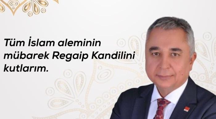 İL BAŞKANIMIZ ALİ ÇANKIR'DAN REGAİB KANDİLİ MESAJI
