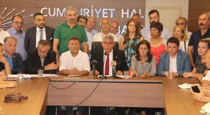 CHP ÖRGÜTÜNDEN, AKTAŞ'IN 30 AĞUSTOS AYIBINA SERT TEPKİ