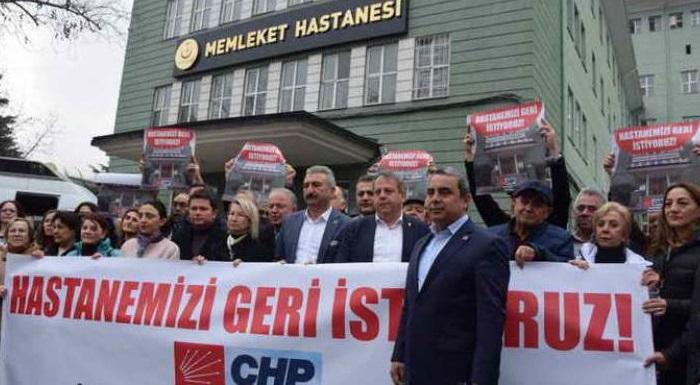 """""""BURSA DEVLET HASTANESİ YENİDEN AÇILSIN"""""""