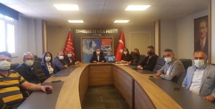 CHP BELEDİYE MECLİSİ GRUBU DEĞERLENDİRME TOPLANTISI YAPTI