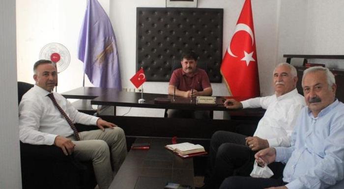 CHP HEYETİNDEN OSMANCIK'TA STK ZİYARETLERİ