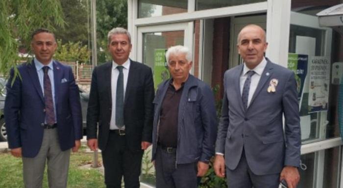 CHP VE İYİ PARTİ'DEN MUHTAR ŞAHİN'E ZİYARET