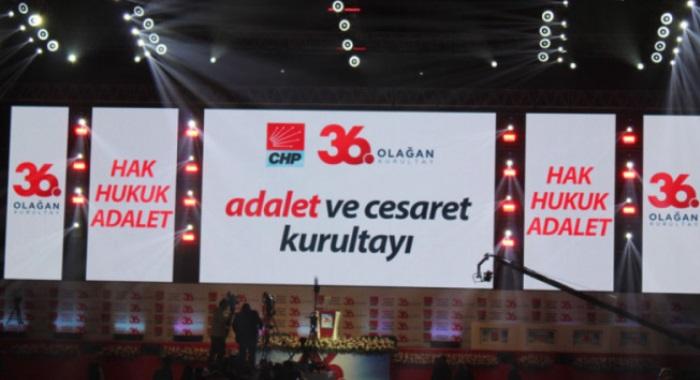 Cumhuriyet Halk Partisi 36. Olağan Kurultay Sonuç Bildirgesi