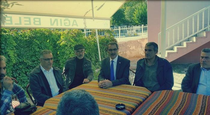 Cumhuriyet Halk Partisi Elazığ İl Başkanı Zeki Kaplan, Ağın ilçesini ziyaret ederek Ağınlılarla buluştu.