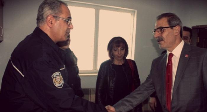 CHP Elazığ İl Başkanlığı Emniyete Taziye Ziyaretinde Bulundu.