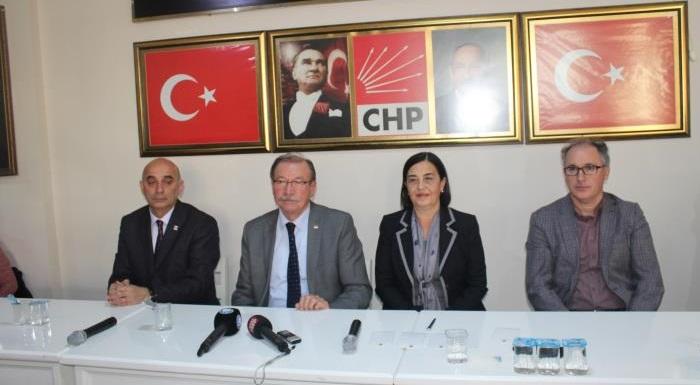 CHP İl Başkanı Abdülkadir Adar'ın pazar toplantısında yaptığı konuşma
