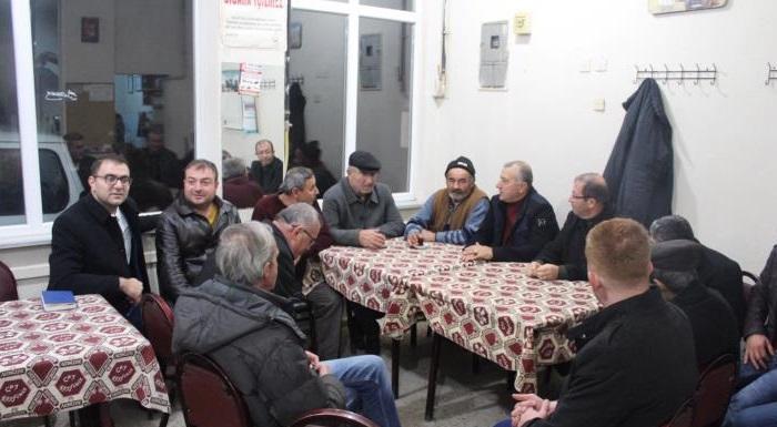 CHP heyeti İnönü'de çalışmalara başladı