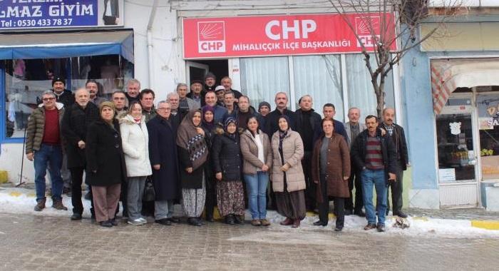 Mihalıççık'ta CHP iddialı