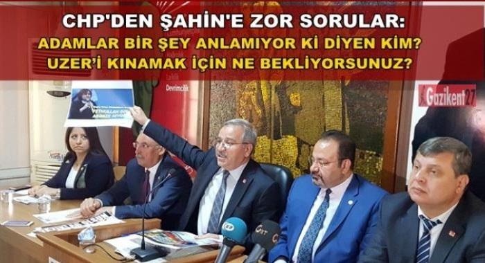 CHP: Neden Ahmet Uzer ismini zikredemiyorsunuz?