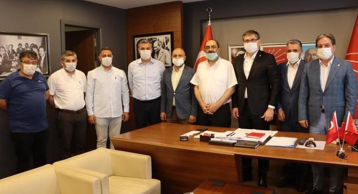 CHP Kocaeli, Gürbüz Çapan ve Müslim Sarı'yı ağırladı