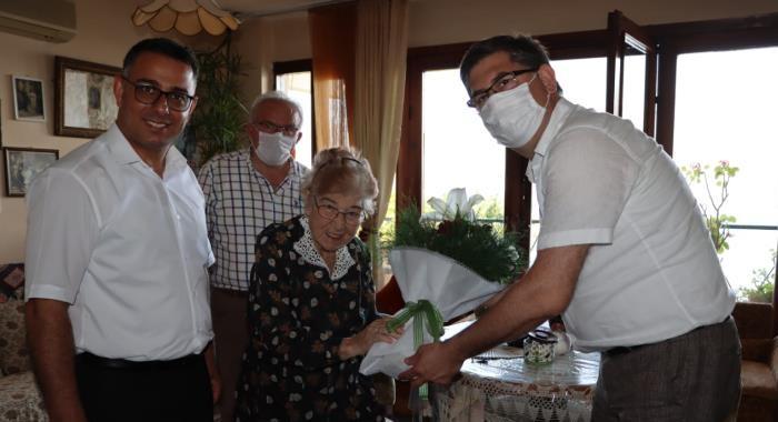 CHP'li başkanlardan Armaner'e duygulandıran ziyaret
