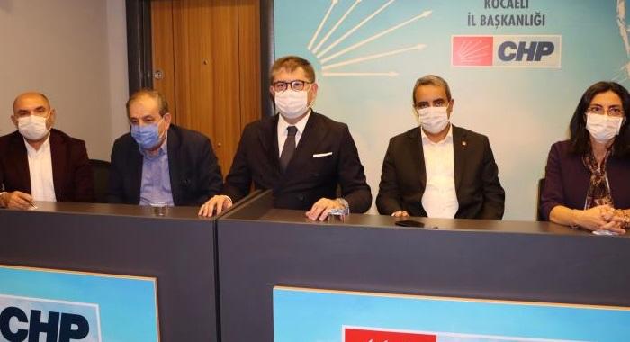 CHP'nin önemli isimleri  Kocaeli'den iktidar mesajı verdi