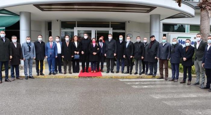 CHP Milletvekillerinden Kocaeli çıkarması  Kocaeli halkının sesini meclise taşıyacaklar