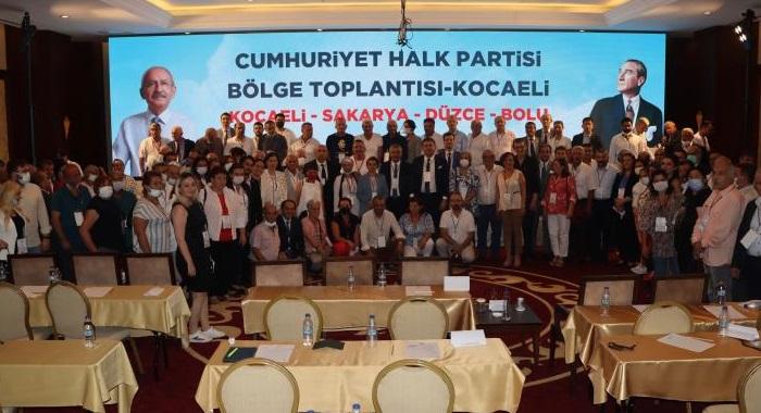 CHP'nin 10. Bölge Toplantısı, CHP Kocaeli'nin ev sahipliğinde gerçekleştirildi