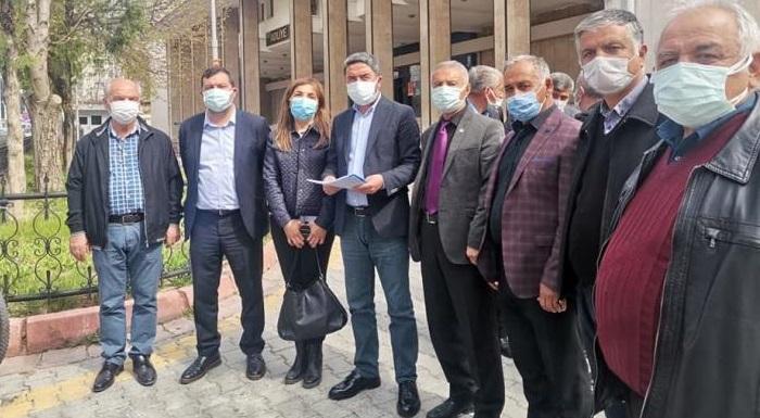 CHP'DEN YEŞİLYURT BELEDİYESİ'NE SUÇ DUYURUSU...
