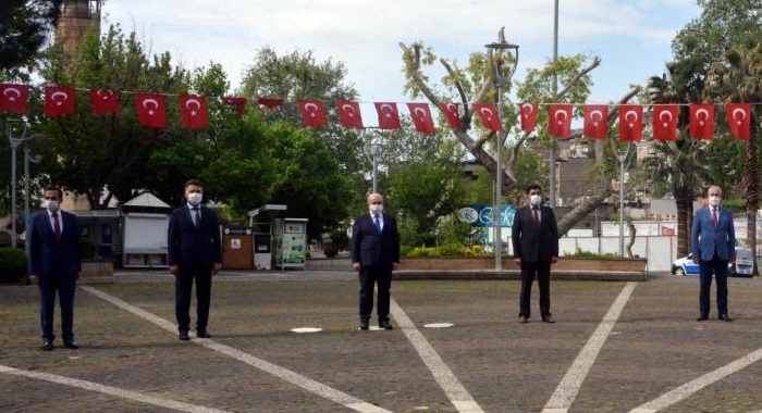 İl Başkanımız Esat Şengül Atatürk Meydanı'ndaki 23 Nisan Kutlamalarına Katıldı
