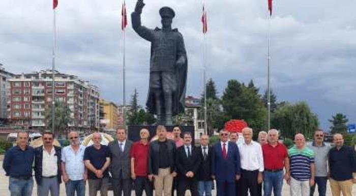 Atatürk'ün Rize'ye gelişinin 94.yılı kutladık..