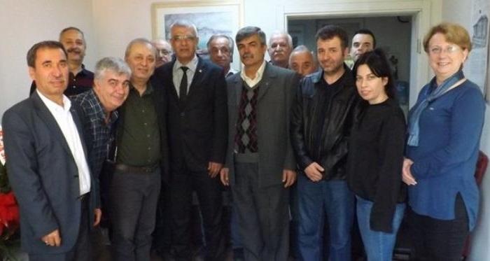 Eğitim Sen'den CHP Sakarya İl Başkanlığı'na ziyaret