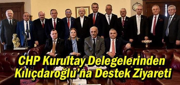.CHP Samsun Kurultay Delegelerinden Kılıçdaroğlu'na Destek Ziyareti