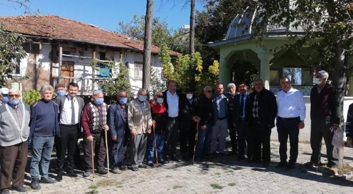 CHP Tokat Yönetimi'nden Almus İlçemize Bağlı Köylere Ziyaret