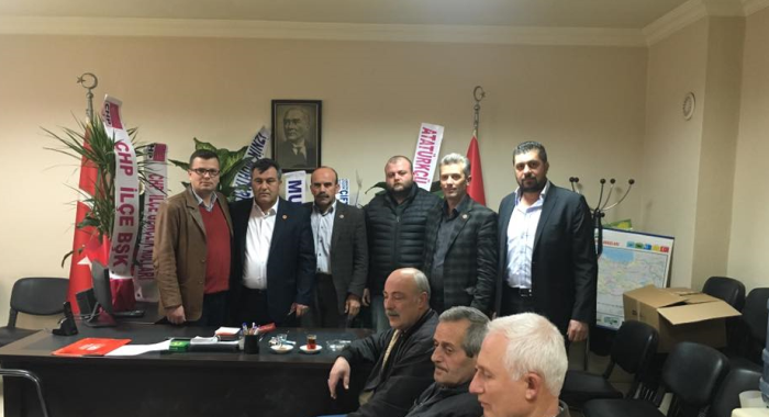 CHP Yenişehir'den Muhtarlar Derneği'ne ziyaret