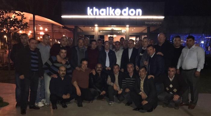 Küçükkuyu Muhtarları ve Azaları İstanbul Gezisinde Buluştular!