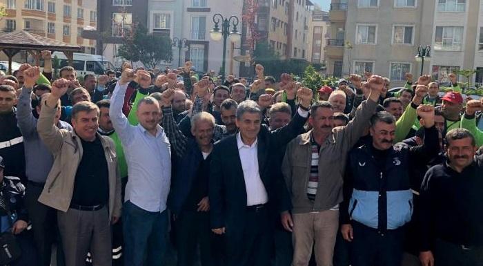Defne'de Taşeron İşçiler Kadroya Alındı!