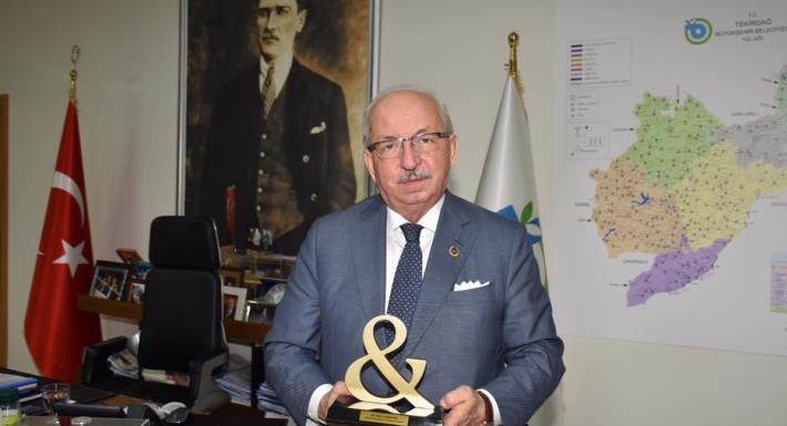 Tekirdağ Büyükşehir Belediyesi Başarılarını Kent & Başkan Ödülü ve Marmara Birinciliğiyle Taçlandırdı!
