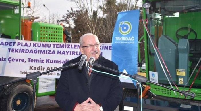 Tekirdağ Büyükşehir Belediyesi ve Trakya Kalkınma Ajansı'nın Projesi Sahil Temizlik Hizmetlerine Güç Kattı!