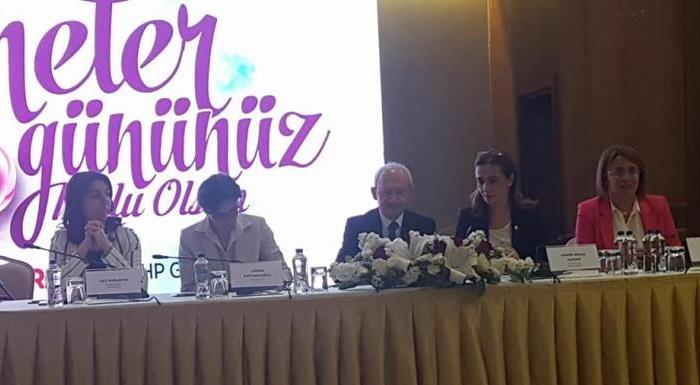 Genel Başkanımız Sayın Kemal Kılıçdaroğlu'nun katıldığı Anneler Günü kutlama programı...