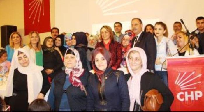 Diyarbakır'ın Ergani İlçesi'nde 170 kadını Örgütümüze kattık...