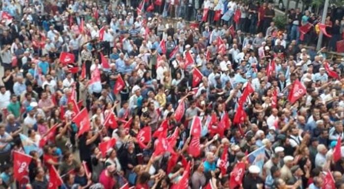 Genel Başkanımız Sayın Kemal Kılıçdaroğlu Malatya Doğanşehir ve Akçadağ'daki vatandaşlarla bir araya geldi. #İstikbalİçinCesaret #TAMAM #Milleticingeliyoruz