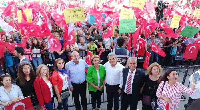 Kilis'te cumhurbaşkanı adayımız Sayın Muharrem İnce'nin mitingine katıldık. Umudun varsa eğer geniş ufuklara sahip olursun. Umudumuzla var olalım.. #MilletİçinGeliyoruz #İstikbalİçinCesaret #TAMAM