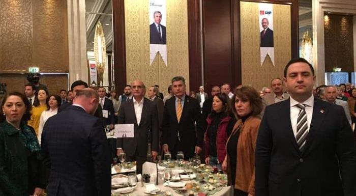 Muhtarlarımızla birlikte Ankara toplantısındayız. #ANKARAMuhtarlarımızlaBulusuyoruz