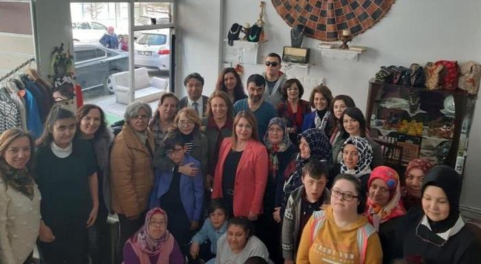 Aksaray Engelli Aileleri Derneği'ni Ziyaret