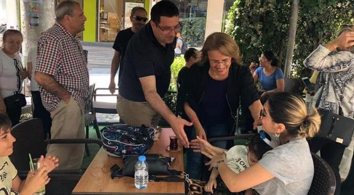 Avcılar'dayız. Kadınlarımızla İstanbul'un geleceği için, baharı yaza çevirmenin umudu ile çalışıyoruz.