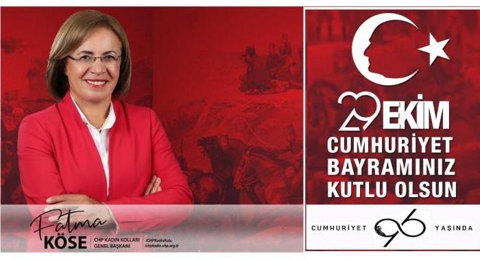 YAŞASIN CUMHURİYET! 96. yılında, başta Gazi Mustafa Kemal Atatürk olmak üzere, bize Cumhuriyet'i armağan eden tüm kahramanları minnet ve saygıyla anıyoruz. Bizi biz yapan, özgürleştiren, çağdaşlaştıran, bütün kazanımlarıyla sonsuza kadar sahip çıkacağımız bayramımız kutlu olsun!