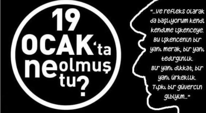 Öldürülüşünün 13. yılında, her fırsatta bizlere ön yargılarımızdan arınarak kardeşçe yaşayabileceğimiz bir hayatın mümkün olduğunu anlatmaya çalışan Hrant Dink'i saygıyla anıyoruz...