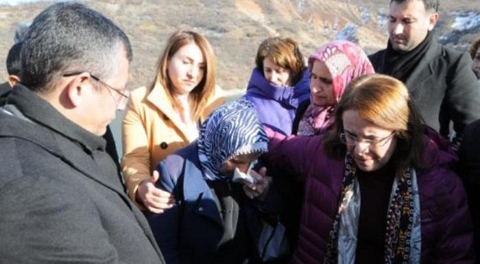 """""""CHP HEYETİ, GÜLİSTAN'I ARAMA ÇALIŞMALARINI YERİNDE İNCELEDİ"""""""