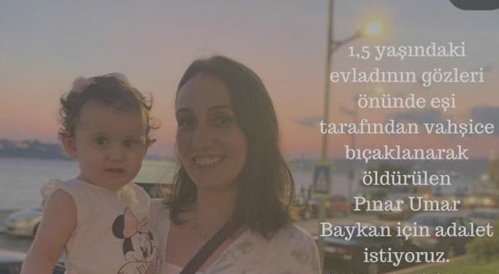 Ülkede kadınlar her gün ölüyor, her gün öldürülüyorlar. #PınarİçinAdalet
