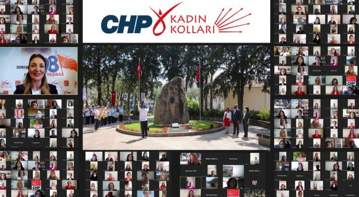 CHP'Lİ KADINLAR ZÜBEYDE HANIM'I UNUTMADI