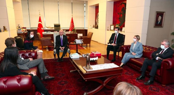 Head of EU Delegation Ambassador Nikolaus Meyer Landrut's visit