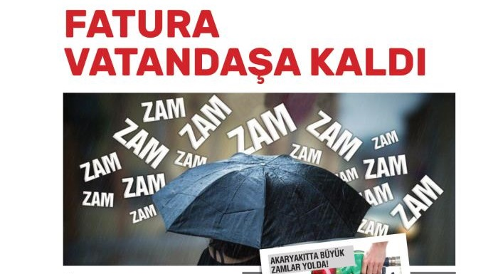 ELEKTRİK FATURALARINA ZAM YOLDA