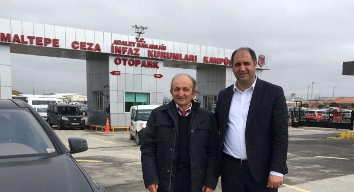 CHP İSTANBUL HUKUK KOMİSYONU'NDAN BERBEROĞLU'NA ZİYARET